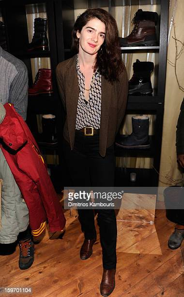 Actress Gaby Hoffmann attends Day 1 of Village at The Lift 2013 on January 18 2013 in Park City Utah