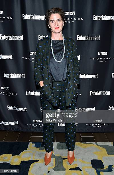 Actress Gaby Hoffmann attends Entertainment Weekly's Toronto Must List party at the Thompson Hotel on September 10 2016 in Toronto Canada