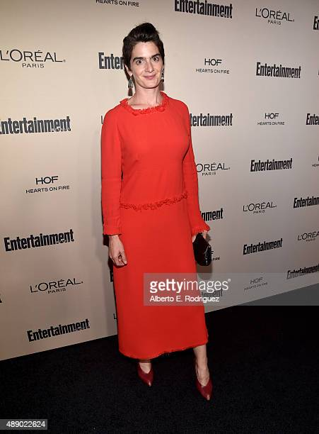 Actress Gaby Hoffmann attends the 2015 Entertainment Weekly PreEmmy Party at Fig Olive Melrose Place on September 18 2015 in West Hollywood California