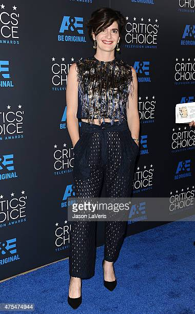 Actress Gaby Hoffmann attends the 5th annual Critics' Choice Television Awards at The Beverly Hilton Hotel on May 31 2015 in Beverly Hills California