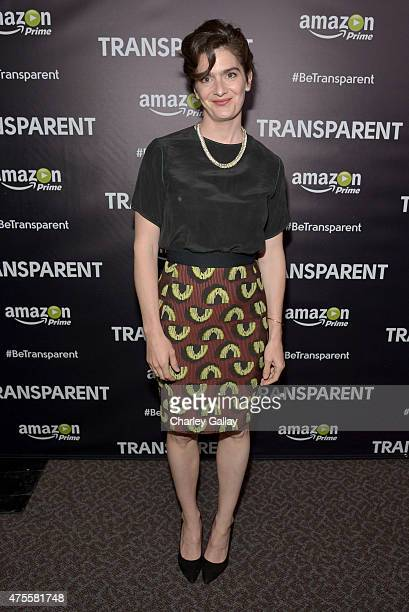 Actress Gaby Hoffmann attends the Emmy FYC Los Angeles Screening of Amazon Original Series Transparent at Directors Guild Of America on June 1 2015...