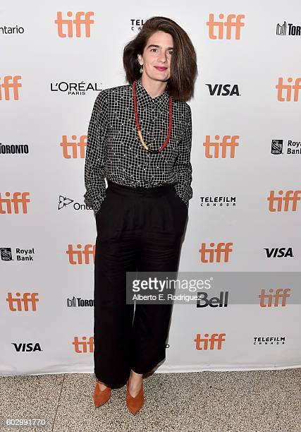 Actress Gaby Hoffmann attends the Transparent Season 3 premiere during the 2016 Toronto International Film Festival at The Elgin on September 11 2016...