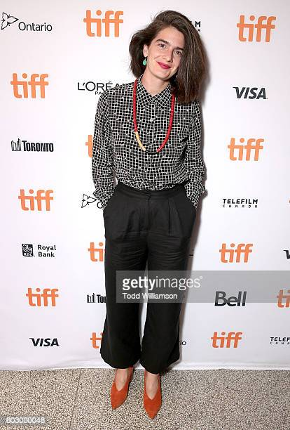 Actress Gaby Hoffmann attends the Transparent Season Three World Premeire At The Toronto International Film Festival on September 11 2016 in Toronto...