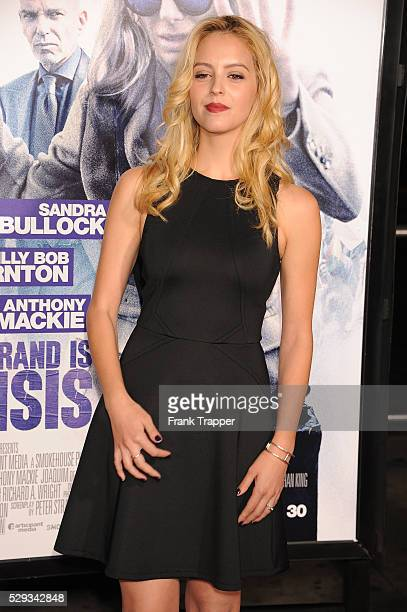 Actress Gage Golightly arrives at the premiere of 'Our Brand In Crisis' held at the TCL Chinese Theater in Hollywood