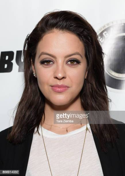 Actress Gage Golightly attends a screening of Vega Baby's 'Shortwave' at AMC DineIn Sunset 5 on October 2 2017 in Los Angeles California