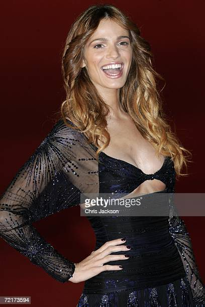 Actress Gaia Bermani Amaral attends the premiere of the movie The Departed on the third day of Rome Film Festival on October 15 2006 in Rome Italy