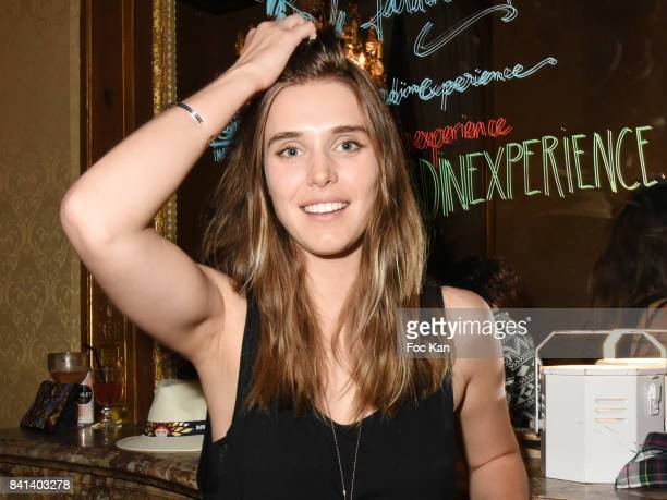 Actress Gaia Weiss attends the 'Garden Party So British' at Jardin L' Experience on August 31 2017 in Paris France
