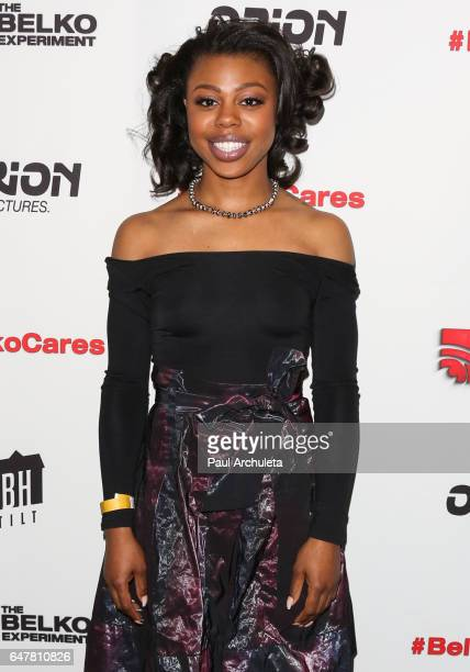 Actress Gail Bean attends the screening of The Belko Experiment at Aero Theatre on March 3 2017 in Santa Monica California