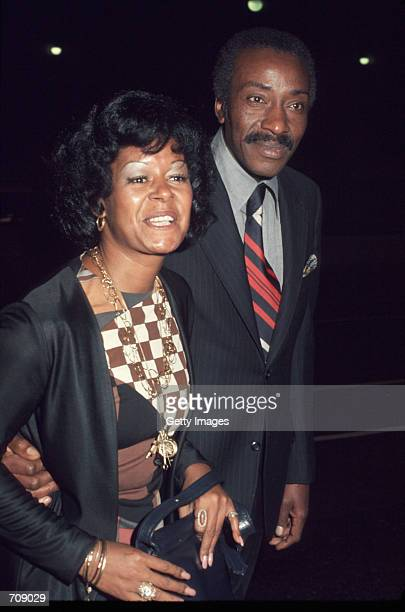 Actress Gail Fisher attends the Essence Magazine party May 16 1974 i n Hollywood CA Fisher plays the role of Peggy Fair in the TV show Mannix