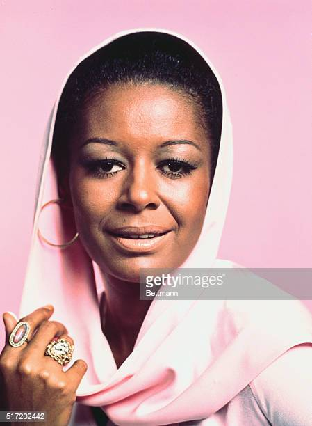 Actress Gail Fisher in a publicity handout for the TV series Mannix