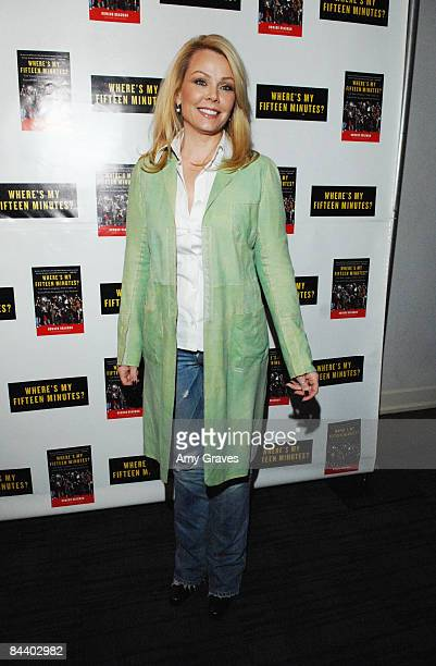 Actress Gail O'Grady attends Howard Bragman's 'Where's My Fifteen Minutes' Book Release Party at the Chateau Marmont on January 14 2009 in West...