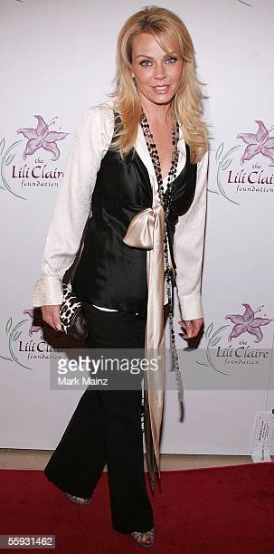 Actress Gail O'Grady attends The 8th Annual Lili Claire Foundation Benefit at the Beverly Hilton Hotel October 15 2005 in Beverly Hills California