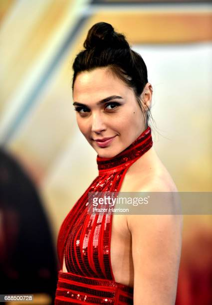 Actress Gal Gadot arrives at the Premiere Of Warner Bros Pictures' Wonder Woman at the Pantages Theatre on May 25 2017 in Hollywood California
