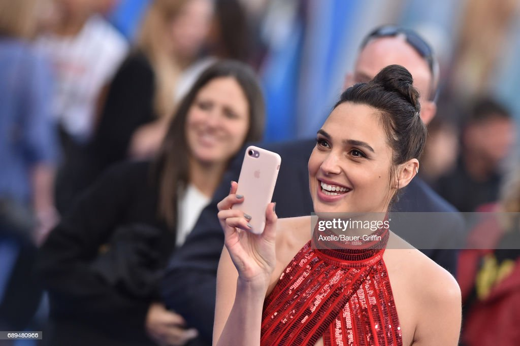 Actress Gal Gadot arrives at the premiere of Warner Bros. Pictures' 'Wonder Woman' at the Pantages Theatre on May 25, 2017 in Hollywood, California.