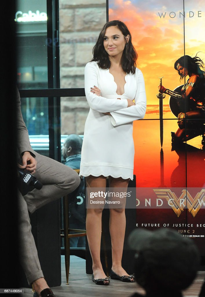 "Build Presents The Cast Of ""Wonder Woman"" : News Photo"