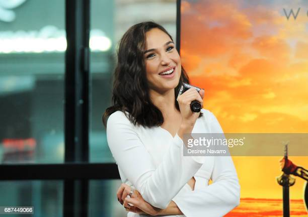 Actress Gal Gadot attends Build The Cast of 'Wonder Woman' at Build Studio on May 23 2017 in New York City