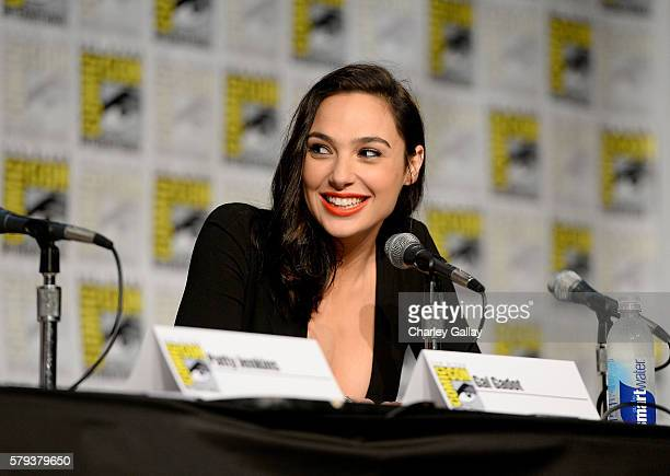 Actress Gal Gadot attends Celebrating 75 Years Of Wonder Woman during San Diego ComicCon 2016 at San Diego Convention Center on July 23 2016 in San...
