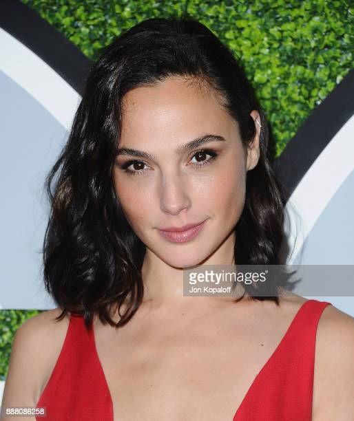 Actress Gal Gadot attends the 2017 GQ Men Of The Year Party at Chateau Marmont on December 7 2017 in Los Angeles California
