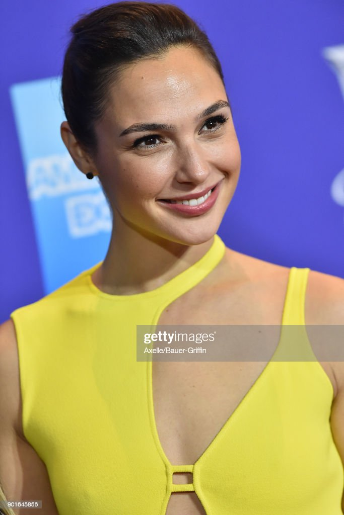 Actress Gal Gadot attends the 29th Annual Palm Springs International Film Festival Awards Gala at Palm Springs Convention Center on January 2, 2018 in Palm Springs, California.