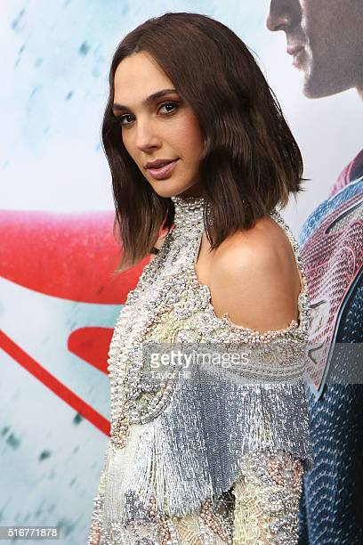 """Actress Gal Gadot attends the """"Batman v. Superman: Dawn of Justice"""" premiere at Radio City Music Hall on March 20, 2016 in New York City."""
