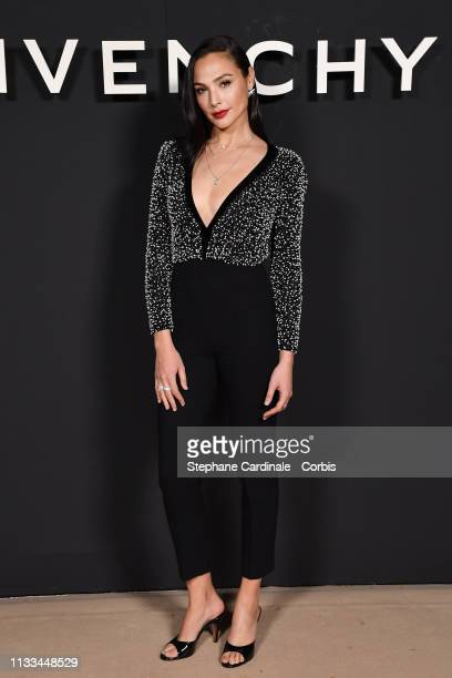 Actress Gal Gadot attends the Givenchy show as part of the Paris Fashion Week Womenswear Fall/Winter 2019/2020 on March 03 2019 in Paris France