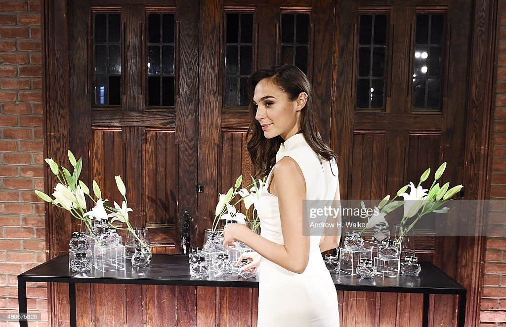 925c60831 Actress Gal Gadot attends the Gucci Bamboo Fragrance launch on July ...