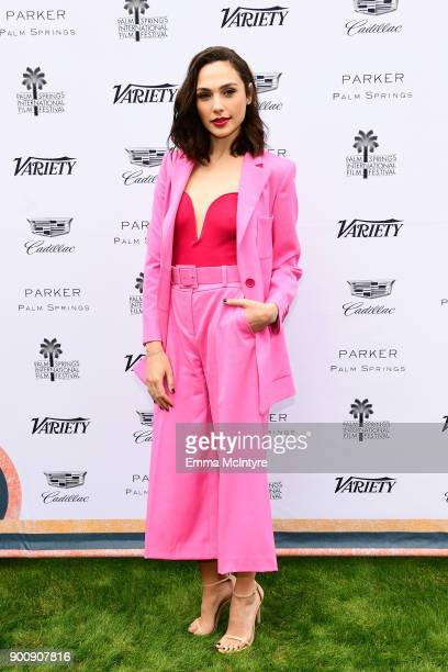 Actress Gal Gadot attends the Variety's Creative Impact Awards and 10 Directors to watch at the 29th Annual Palm Springs International Film Festival...