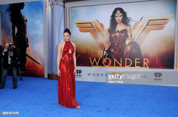 Actress Gal Gadot attends the World Premiere of Warner Bros Pictures' 'Wonder Woman' at the Pantages Theatre on May 25 2017 in Hollywood California