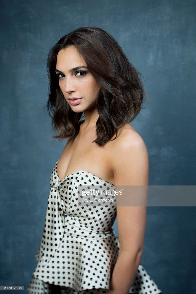 Actress Gal Gadot is photographed for Los Angeles Times on March 18, 2016 in Los Angeles, California. PUBLISHED IMAGE.