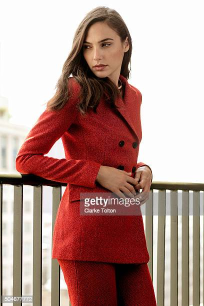 Actress Gal Gadot is photographed for Marie Claire Magazine on May 31 2015 in New York City