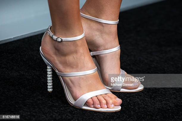 Gal gadot shoes stock photos and pictures getty images actress gal gadot shoe detail attends the batman v superman dawn of justice new voltagebd Choice Image