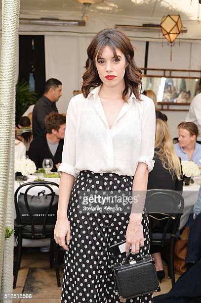 Actress Gala Gordon attends NETAPORTER Celebrates Women Behind The Lens at Chateau Marmont on February 26 2016 in Los Angeles California