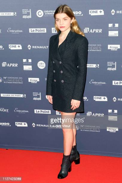 Actress Galatea Bellugi attends the 24th Lumieres De La Presse Internationale Ceremony at Institut du Monde Arabe on February 04 2019 in Paris France