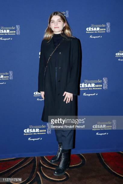 Actress Galatea Bellugi nominated for the Most Promising Actress 'Cesar 2019' Award for the film 'L'APPARITION' attends the Cesar 2019 Nominee...