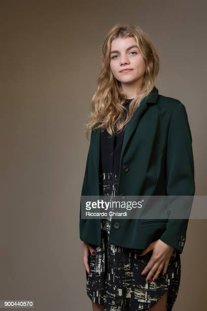 Actress Galatea Bellugi poses for a portrait during the 12th Rome Film Festival on October 2017 in Rome Italy