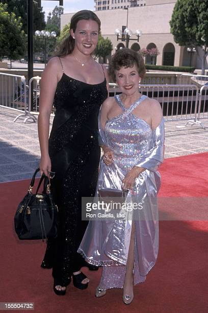 Actress Gale Storm and granddaughter Alexis attend the 1998 Primetime Creative Arts Emmy Awards on August 29 1998 at Pasadena Civic Auditorium in...
