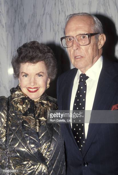 Actress Gale Storm and husband Paul Masterson attend The American Cinema Foundation's Surprise 84th Birthday Celebration for Buddy Ebsen on March 20...