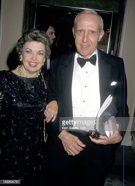 Actress Gale Storm and husband Paul Masterson attend the Fifth Annual Ameican Cinema Awards on January 30 1988 at Beverly Hilton Hotel in Beverly...