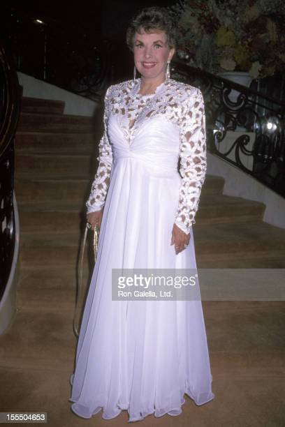 Actress Gale Storm attends the 14th Annual Angel Awards on February 21 1991 at Regent Beverly Wilshire Hotel in Beverly Hills California