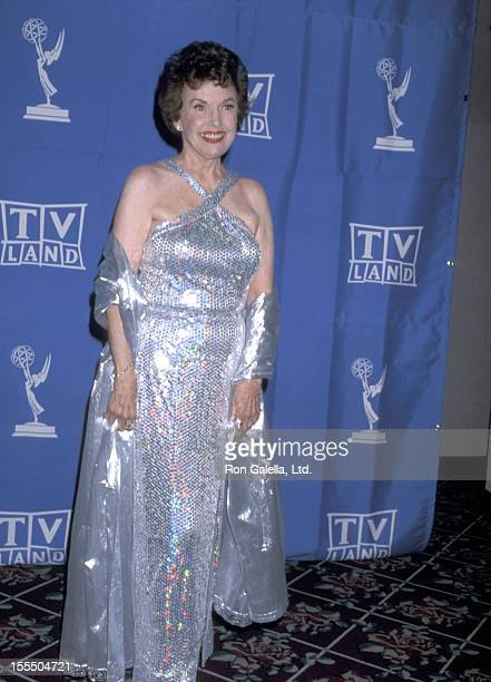 Actress Gale Storm attends the 1998 Primetime Creative Arts Emmy Awards on August 29 1998 at Pasadena Civic Auditorium in Pasadena California