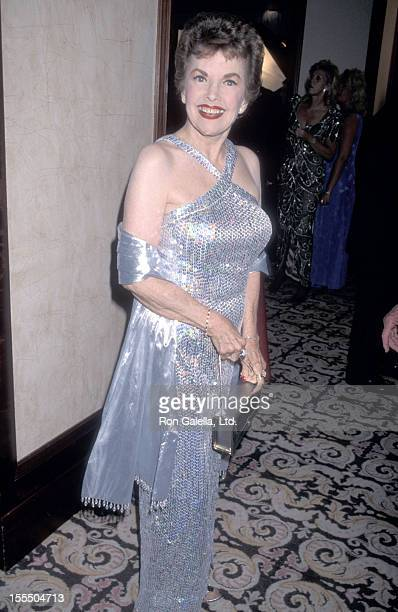 Actress Gale Storm attends the 43rd Annual Thalians Ball on October 17 1998 at Century Plaza Hotel in Los Angeles California