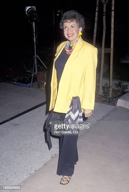 Actress Gale Storm attends The Academy of Motion Picture Arts and Sciences' Center for Motion Picture Study Grand Opening Celebration on January 23...