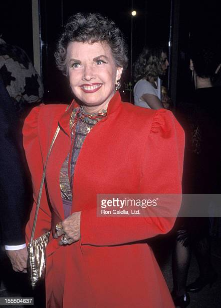 Actress Gale Storm attends the Seventh Annual American Cinema Awards on January 27 1990 at Beverly Hilton Hotel in Bevelry Hills California