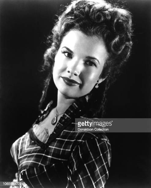 Actress Gale Storm in a scene from the movie The Dude Goes West