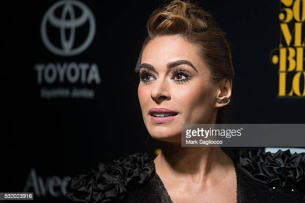 Actress Galilea Montijo attends the People En Espanol 50 Most Beautiful at Espace on May 17 2016 in New York City