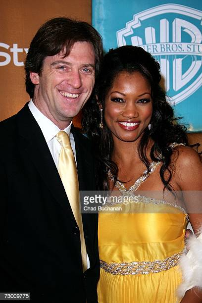 Actress Garcelle Beauvais and husband Mike Nilon arrive at the In Style Magazine and Warner Bros Studios Golden Globe After Party held at the Beverly...