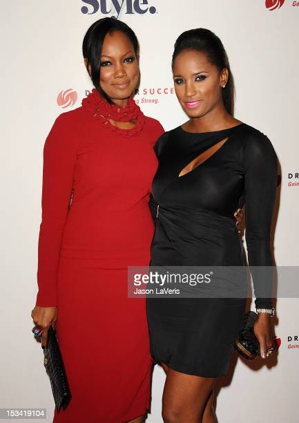 Actress Garcelle Beauvais and Toni Duclottni attend the 4th annual Give Get Fete at SLS Hotel on October 4 2012 in Beverly Hills California