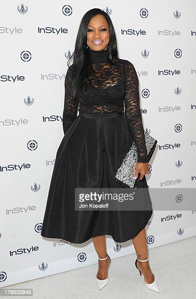 Actress Garcelle Beauvais arrives at the 13th Annual InStyle Summer Soiree at Mondrian Los Angeles on August 14 2013 in West Hollywood California