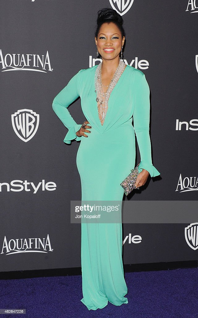 Actress Garcelle Beauvais arrives at the 16th Annual Warner Bros. And InStyle Post-Golden Globe Party at The Beverly Hilton Hotel on January 11, 2015 in Beverly Hills, California.
