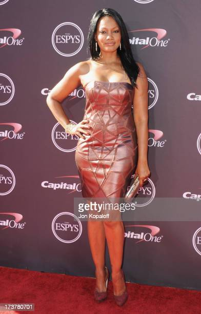 Actress Garcelle Beauvais arrives at The 2013 ESPY Awards at Nokia Theatre LA Live on July 17 2013 in Los Angeles California